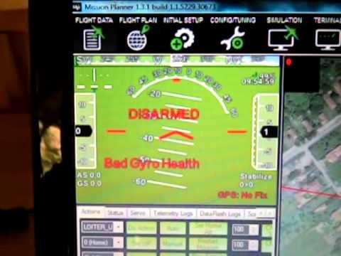 Bad Gyro Health APM2 6, Faulty 3 3V regulator