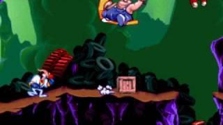 DOS Game: Earthworm Jim