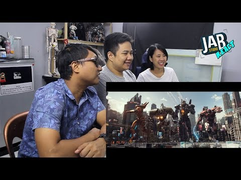 JAB React : (EP.10) Pacific Rim Uprising - Official Trailer 1 (Universal Pictures)