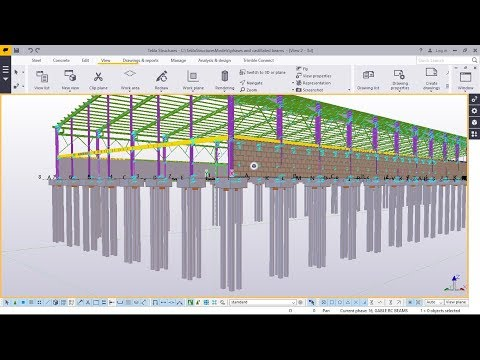 Download How To Use Foundation Pile Macro Tekla Structures 2017i MP3
