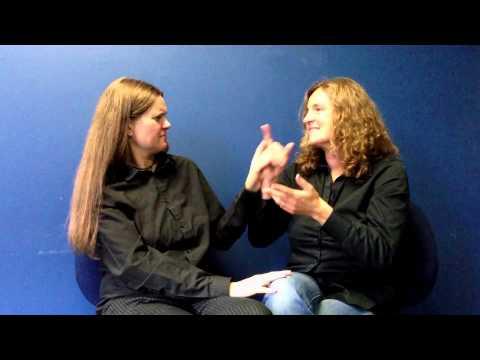 tactile sign language