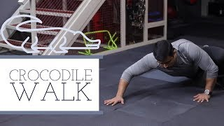 SUPER FAT BURNING EXERCISE - CROCODILE WALK