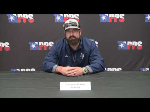 Baytown Christian Academy Football Pre-Game Press Conference Coach