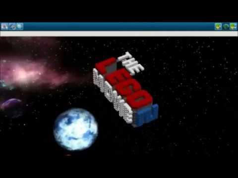How To Build The Lego Movie 2 Logo Youtube