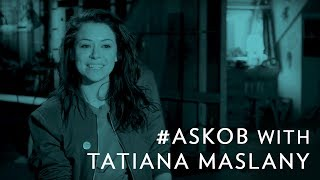 #AskOB with Tatiana Maslany - A Cophine Wedding | Orphan Black on BBC America