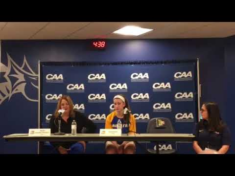 WBB: Hofstra Postgame Press Conference Vs. Charleston - CAA Opening Round (3/7/18)