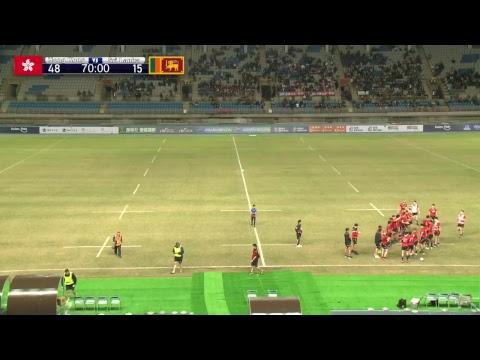 Asia Rugby U19 Championship  Hong Kong V Sri Lanka