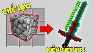 Minecraft Đảo Lộn #9 : Đá Chế Tạo Ra Thanh Kiếm Rồng Max Vip