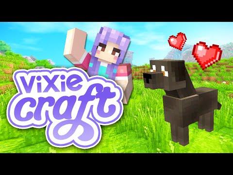 Minecraft: VixieCraft ✧˖ ° | Part 1 - PUPPY!!!