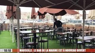 Marseille : le bar de la Marine est à nouveau ouvert
