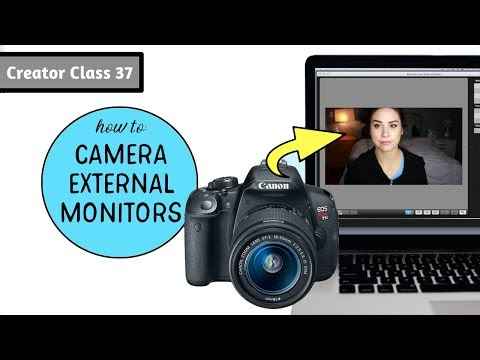 How To Use Your Laptop As External Monitor For Canon Camera | Creator Class 37 | Samantha Ebreo