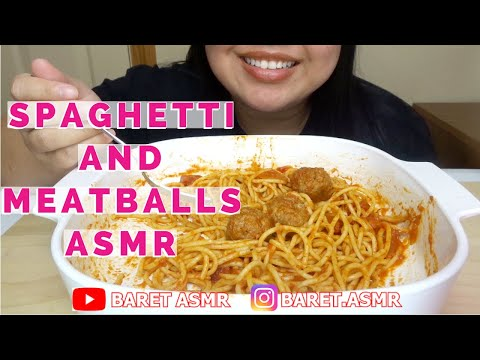 SPAGHETTI AND MEATBALLS ASMR - SIMPLE BUT DELICIOUS!!!