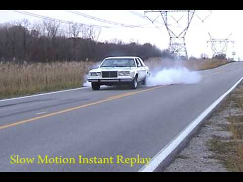 Mark's 360 Chrysler Fifth Avenue Burnout
