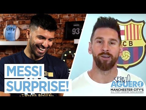 MESSI SURPRISES AGUERO! | Noel & Liam Gallagher sing for Sergio