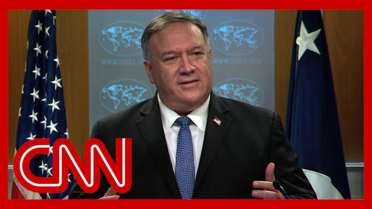 See what Pompeo said when asked about Biden's victory