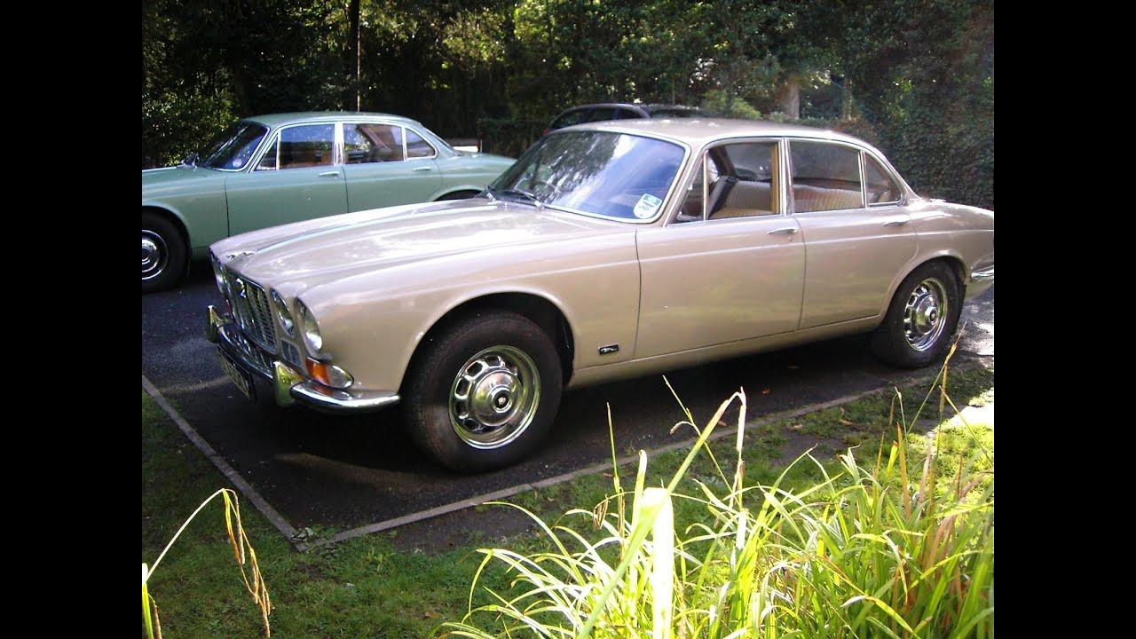 Jaguar Xj6 Classic T Cars 1970 Art British Car Series I 42 Auto Ascot Fawn