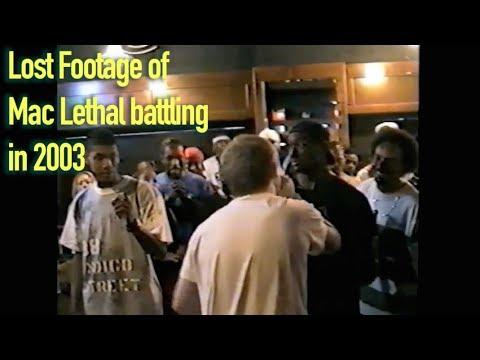Lost footage of Mac Lethal battling in 2003