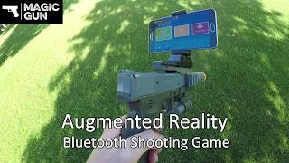 AR Gun - Augmented Reality Video Game IOS & Android