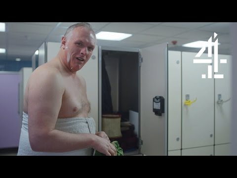 Dan is Living in a Gym | Man Down | Series 3 Episode 4 (Outtakes)