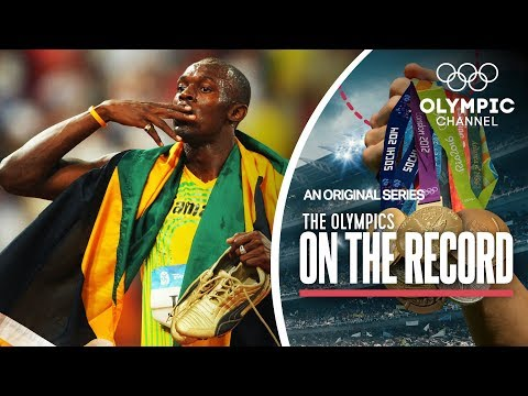 Usain Bolt Breaks 100m World Record in Beijing 2008 | The Olympics On The Record