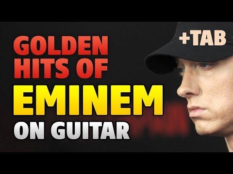 EMINEM Golden Hits. GUITAR TABS. Fingerstyle Cover