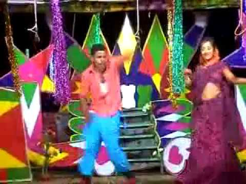 letest telugu village stage dance in bavalu sayya song