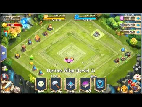 Castle Clash: Account For Sale