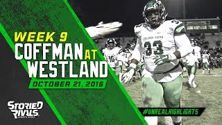 HS Football | Dublin Coffman at Westland [10/21/16]