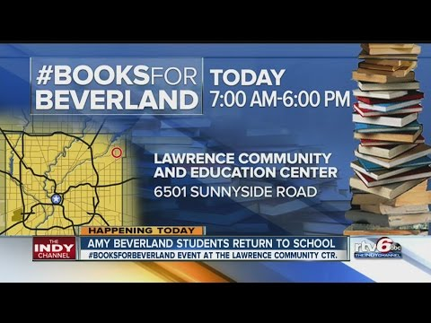 Donate a book to support the Amy Beverland Elementary School