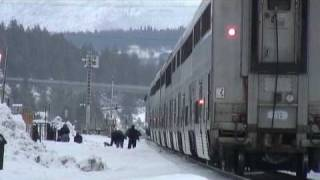 Amtrak California Zephyr: Truckee, California