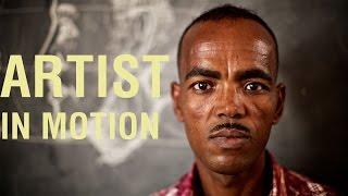 Artist in motion: Mebrahtu's tale