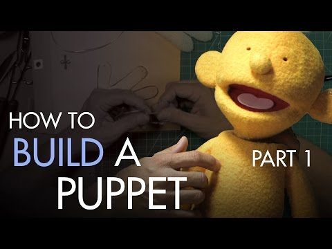 How to Build a Hand and Rod Puppet Part 1 - Understructure - PREVIEW