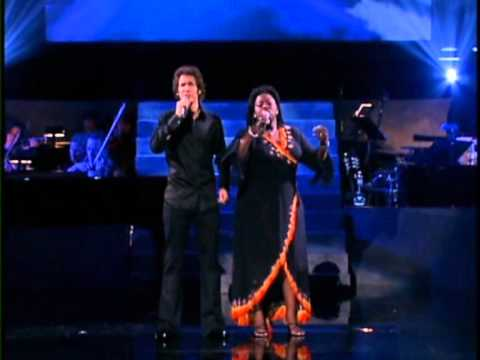 The Prayer Josh Groban Angie Stone - YouTube