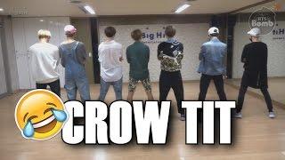 [RUS SUB] BTS `Crow tit` Dance Practice (Fun ver.)