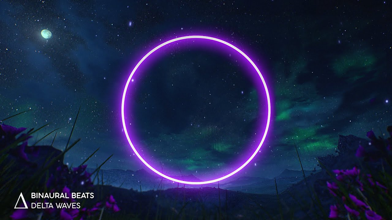 """INSOMNIA RELIEF [Fall Asleep Fast] """"Midnight Aurora"""" Binaural Beats Sleep Music"""