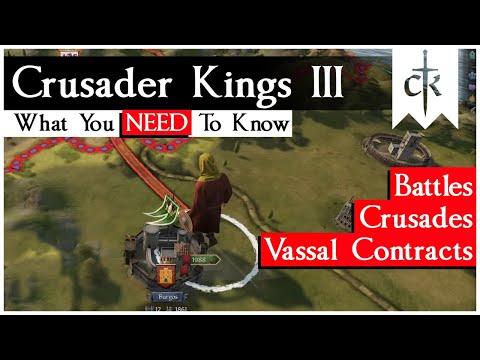CK3 News Roundup: Crusades, Vassal Contracts And Battles