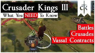 CK3 News Roundup: Crusades, Vassal Contracts And Battles