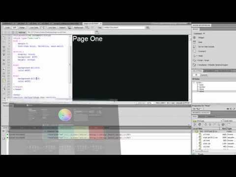 Tutorial: SmoothScroll Webpage with jQuery & Dreamweaver