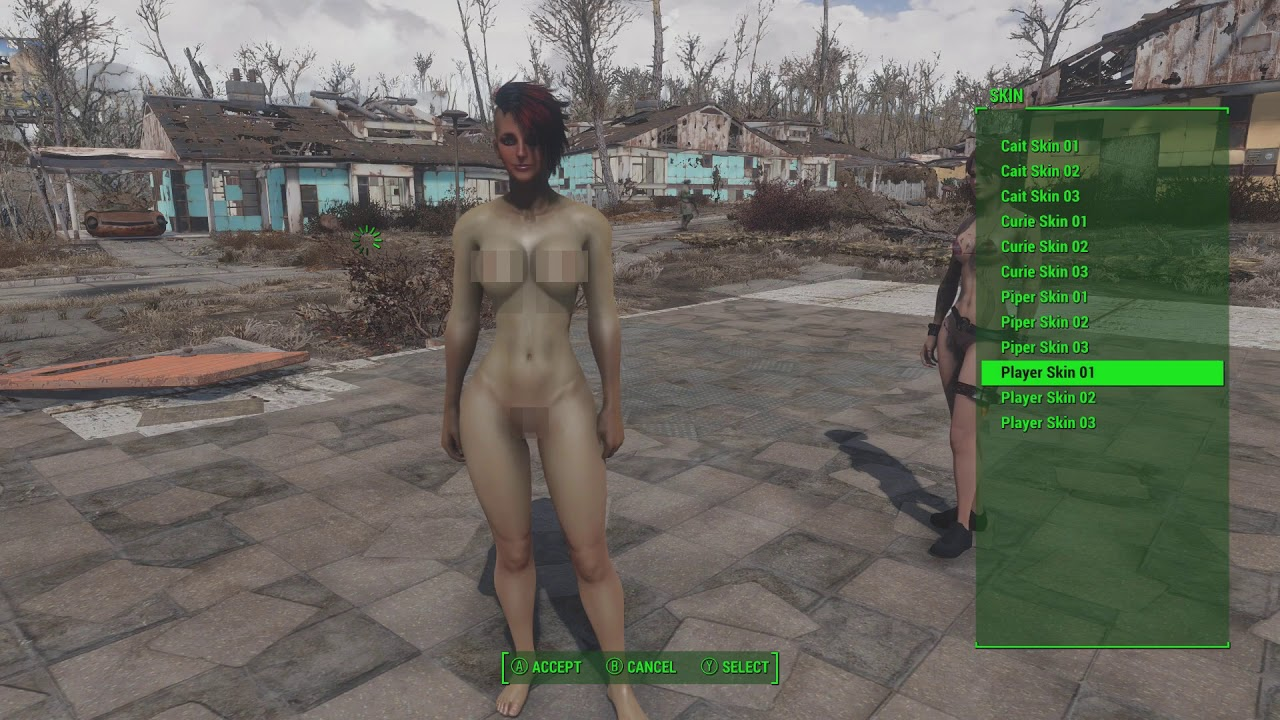 Astins Skin Override For Looks Menu at Fallout 4 Nexus
