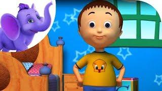 Two Little Eyes to Look Around - Nursery Rhyme with Karaoke