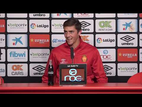 Antonio Raíllo post RCD Mallorca-Málaga CF 1-2 J17