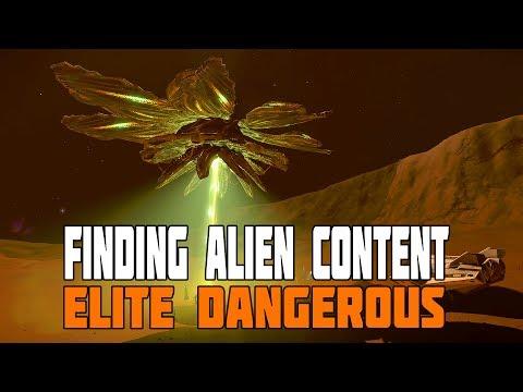 Elite Dangerous - How to find the Alien Content