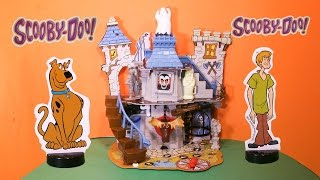 SCOOBY DOO The Scooby Doo Haunted House 3D Board Game a Scooby Doo Video Toy Game