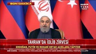 Tahran bildirisi açıklanıyor