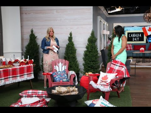 How To Create A Canada Day Camping Party In Your Own Backyard!