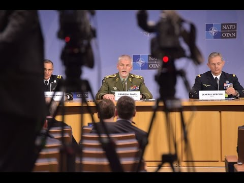 Joint Press Conference - NATO Chiefs of Defence Meeting, 18 JAN 2017, Part 2/2