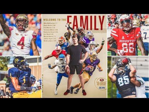 LIVE! 49ers 2018 NFL Draft Recap & UDFA