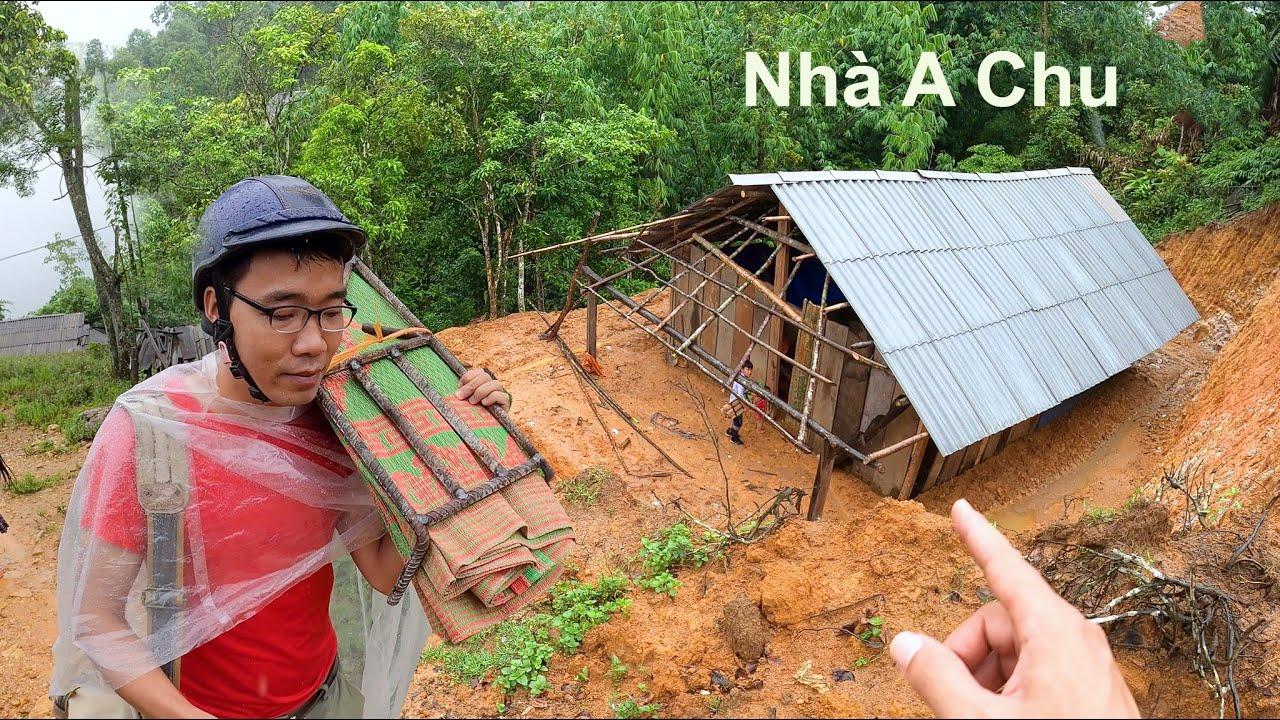 Thăm nhà vợ chồng A Chu ngày mưa bão - Lỗi lo ngồi nhà không đứng vững được - Vợ chồng A Chu Phần 3