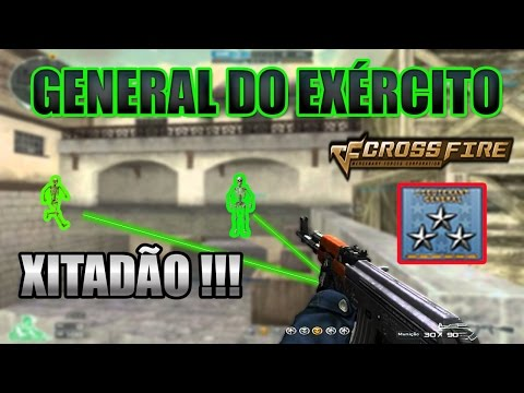 General do Exército Xitadão na Ranked l CrossFire AL