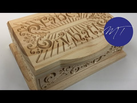 Making a Box with a CNC | Michael Tylers FREE Project of the Month | Vectric